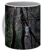 Antlers - Skull - In The Air Coffee Mug