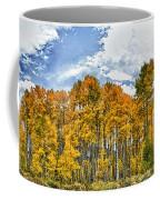 Apen Trees In Fall Coffee Mug