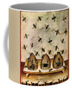 Apiculture-beekeeping-14th Century Coffee Mug by Science Source