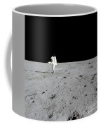 Apollo 14 Astronaut Makes A Pan Coffee Mug