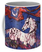 Appaloosa In Flower Field Coffee Mug