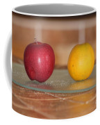 Apple And Orange Coffee Mug