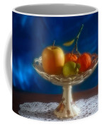 Apple Lemon And Mandarins. Valencia. Spain Coffee Mug