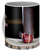 Apple Smashed With Mallet Coffee Mug