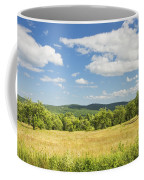 Apple Trees And Hay Field In Summer Maine Coffee Mug
