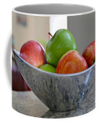 Apples In Fruit Bowl Coffee Mug