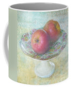 Apples Still Life Print Coffee Mug
