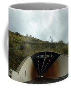 Approaching A Tunnel On A Highway In England Coffee Mug