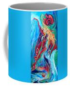 Aqua Rain Coffee Mug