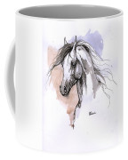 Arabian Horse Ink Drawing 1 Coffee Mug