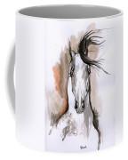 Arabian Horse Ink Drawing 2 Coffee Mug