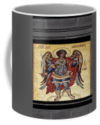 Archangel Michael Mosaic Coffee Mug