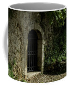 Arched Doorway With Iron Grate Coffee Mug by Todd Gipstein