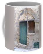 Arched Stone Work Over Door Coffee Mug