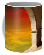 Arches At Sunset Coffee Mug by Carlos Caetano