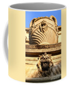 Architectural Detail . Large Urn With Lion Gargoyle  . Hearst Gym . Uc Berkeley . 7d10191 Coffee Mug