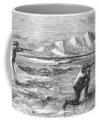 Arctic: Bear Hunting, 1871 Coffee Mug