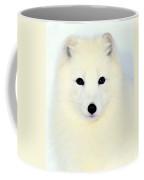 Arctic Fox In Snow Coffee Mug