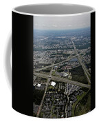 Ariel View Of Orlando Florida Coffee Mug