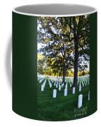 Arlington Cemetery Graves Coffee Mug