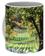 Arlington National Cemetery In The Fall  Coffee Mug