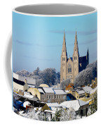 Armagh Cathedral In The Snow Coffee Mug