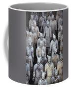 Army Of Terracotta Warriors In Xian Coffee Mug