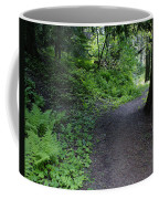 Around Another Bend In The Trail On Mt Spokane Coffee Mug