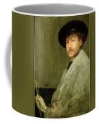 Arrangement In Grey - Portrait Of The Painter Coffee Mug by James Abbott McNeill Whistler