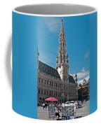 Art Reflecting Art In Brussels Coffee Mug