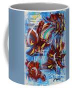 Artful Fireworks Coffee Mug