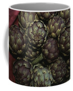 Artichokes At A Market In Provence Coffee Mug