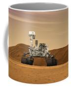 Artist Concept Of Nasas Mars Science Coffee Mug
