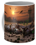 Artists Concept Of A Science Fiction Coffee Mug