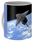 Artists Concept Of A Space Shuttle Coffee Mug