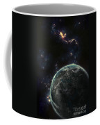 Artists Concept Of A Terrestrial Planet Coffee Mug by Tomasz Dabrowski