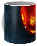 Artists Concept Of An Early Earth Coffee Mug by Walter Myers