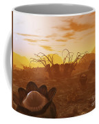 Artists Concept Of Animal And Plant Coffee Mug by Walter Myers