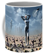 Artists Concept Of Mankinds Reliance Coffee Mug