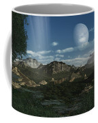 Artists Concept Of Mayan Like Ruins Coffee Mug