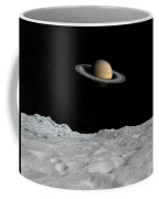 Artists Concept Of Saturn As Seen Coffee Mug