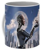 Artists Concept Where Technology Takes Coffee Mug by Mark Stevenson