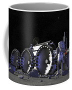 Artists Rendering Of Future Space Coffee Mug