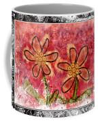 Artsy Daisies Coffee Mug