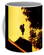 As A Rooster Crows Coffee Mug by Carolyn Marshall