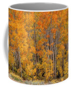 Aspen Forest In Fall - Wasatch Mountains - Utah Coffee Mug