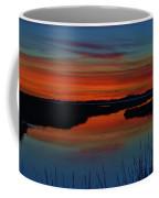 Assateague Bayside Sunset Coffee Mug