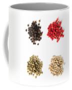 Assorted Peppercorns Coffee Mug by Elena Elisseeva