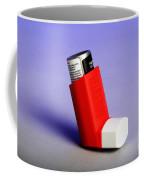 Asthma Inhaler Coffee Mug