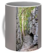 At A Cliff's Edge Coffee Mug